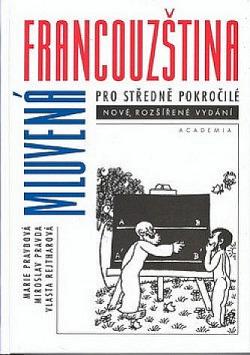 Mluvená francouzština pro středně pokročilé obálka knihy