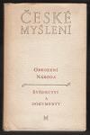 Obrození národa : svědectví a dokumenty obálka knihy