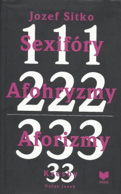111 222 333 Sexifóry Afohryzmy Aforizmy obálka knihy