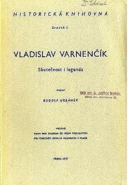 Vladislav Varnenčík: Skutečnost i legenda obálka knihy