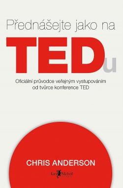 Přednášejte jako na TEDu obálka knihy