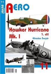 Hawker Hurricane Mk.I - 1. díl obálka knihy