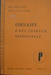 Obsahy z děl českých spisovatelů