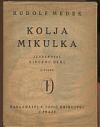 Kolja Mikulka obálka knihy