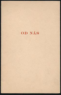 Od nás obálka knihy