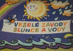 Veselé závody slunce a vody obálka knihy