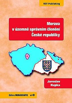 Morava v územně správním členění České republiky obálka knihy