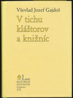 V tichu kláštorov a knižníc obálka knihy
