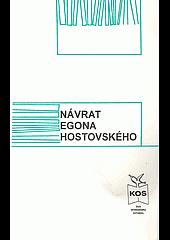 Návrat Egona Hostovského obálka knihy