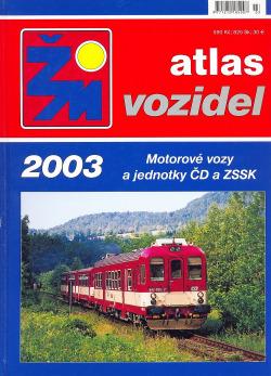 Atlas vozidel ŽM: Motorové vozy a jednotky ČD a ZSSK obálka knihy
