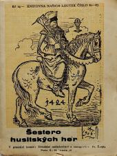 Šestero husitských her pro loutky obálka knihy