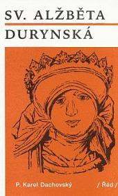 Sv. Alžběta Durynská obálka knihy