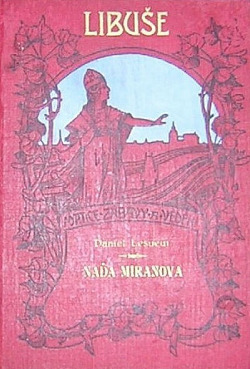 Naďa Miranova obálka knihy