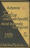 Tradice svatováclavská obálka knihy