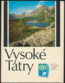 Vysoké Tatry obálka knihy