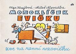 Monoklíček Evičku zve na ranní rozcvičku obálka knihy