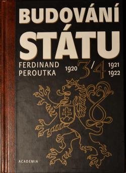 Budování státu 3/4 (1921, 1922) obálka knihy