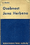 Osobnost Jana Herbena obálka knihy