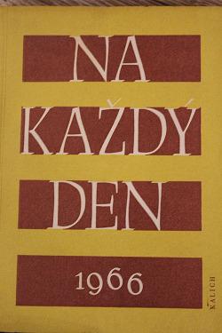 Na každý den 1966 obálka knihy