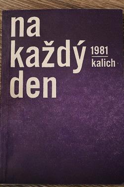 Na každý den 1981 obálka knihy