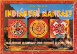 Indiánské mandaly obálka knihy