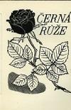 Černá růže obálka knihy