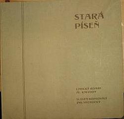 Stará píseň - Lyrický román Al. Kalvody obálka knihy