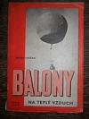 Balony na teplý vzduch obálka knihy