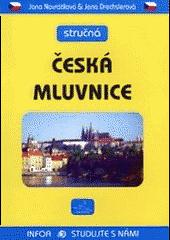 Stručná česká mluvnice obálka knihy