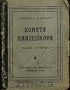 Kometa Hanzelínova obálka knihy