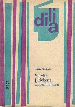 Ve věci J. Roberta Oppenheimera obálka knihy