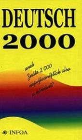 Deutsch 2000 obálka knihy