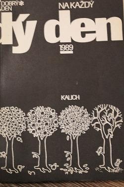 Na každý den 1989 obálka knihy