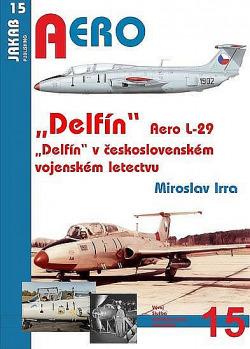 Aero L-29 Delfín 1.díl obálka knihy