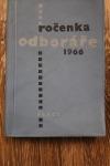 Ročenka odboráře 1966