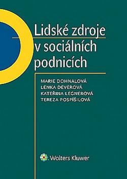 Lidské zdroje v sociálních podnicích obálka knihy