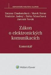 Zákon o elektronických komunikacích. obálka knihy