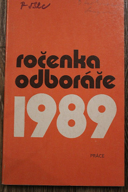 Ročenka odboráře 1989 obálka knihy