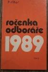 Ročenka odboráře 1989