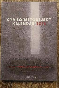 Cyrilometodějský kalendář 2015 obálka knihy