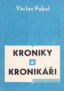 Kroniky a kronikáři obálka knihy
