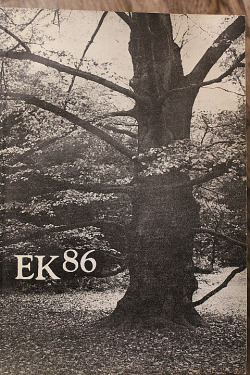 Evangelický kalendář 1986 obálka knihy