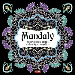 Mandaly - Omalovánky pro dospělé obálka knihy