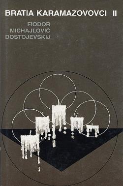 Bratia Karamazovovci II. obálka knihy