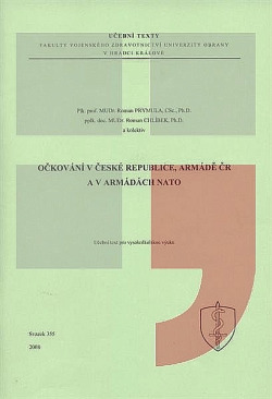 Očkování v České republice, Armádě ČR a v armádách NATO obálka knihy