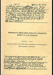 Přirozená měna obyvatelstva českých zemí v 17. a 18. století