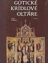 Gotické krídlové oltáre obálka knihy