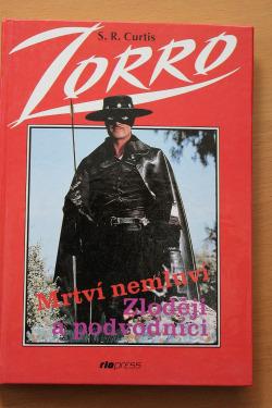 Zorro mstitel / Mrtví nemluví, Zloději a podvodníci obálka knihy