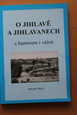 O Jihlavě a Jihlavanech s humorem a vážně obálka knihy