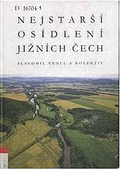 Nejstarší osídlení jižních Čech obálka knihy